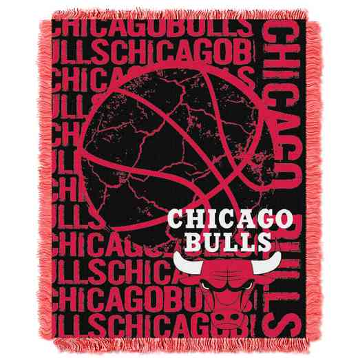 1NBA019040004RET: NBA  JACQUARD THROW, Bulls